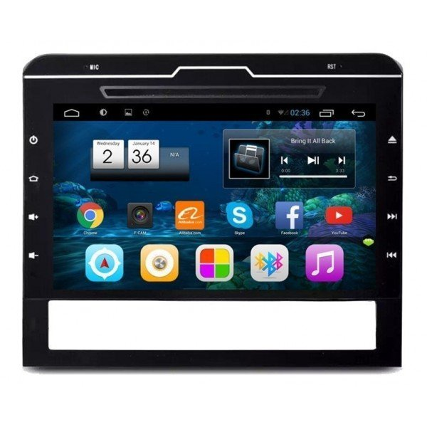 "Radio DVD 9"" GPS HD Toyota LAND CRUISER 200 PURE ANDROID REF: TR2251"