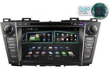 Radio Mazda 5 GPS QUAD CORE ANDROID TR1712