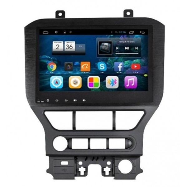 "Radio monitor 10.2"" GPS HD FORD MUSTANG ANDROID PURO REF: TR2257"