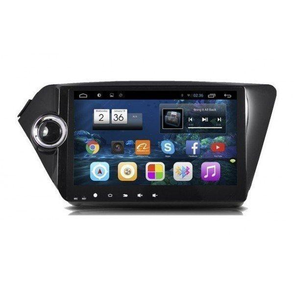 "Radio monitor 9"" GPS HD KIA RIO / K2 ANDROID PURO REF: TR2258"