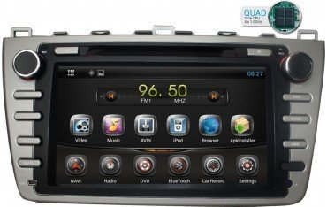 Radio navegador GPS Mazda 6 Android 10 TR1713