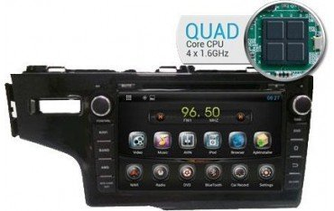 Radio navegador Honda FIT GPS Android QUAD CORE TR1715