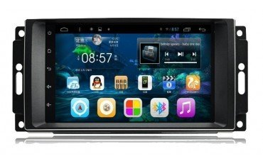 Head unit for DODGE, CHRYSLER, JEEP with GPS ANDROID TR2273