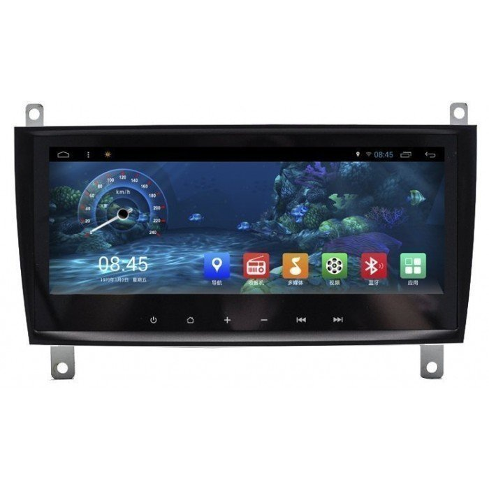 "Radio monitor 8.8"" GPS HD Mercedes CLK W209 ANDROID PURO REF: TR2276"