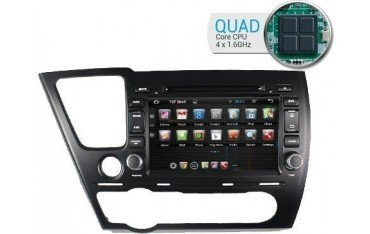 Radio GPS head unit Honda Civic Android 10 TR1716