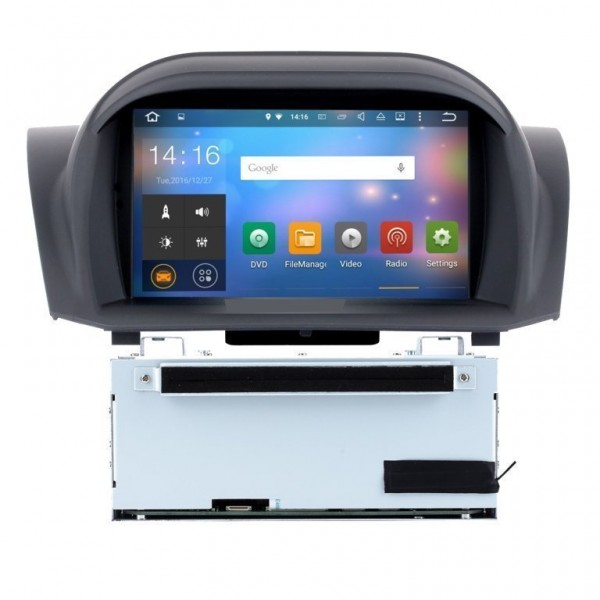 "Radio DVD 7"" GPS HD FORD FIESTA ANDROID PURO REF: TR2277"
