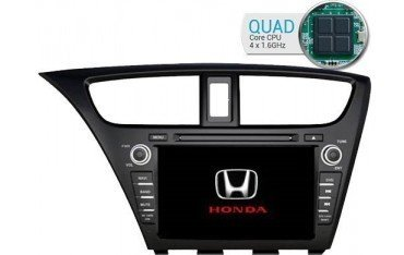 Radio navegador Honda Civic GPS Android QUAD CORE TR1717