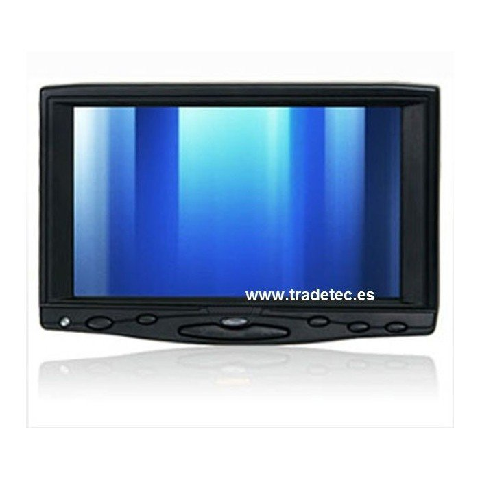 7 INCH VGA monitor with touch