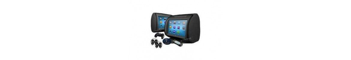 LCD Headrest - Tradetec Gps, car multimedia and consumer electronics