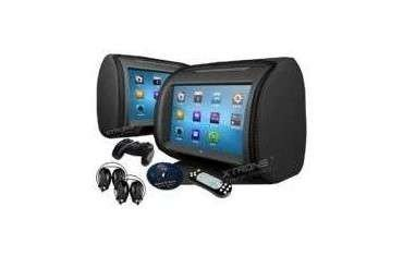 Headrest with LCD