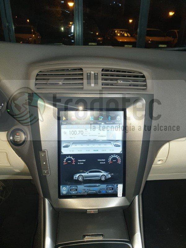 Lexus IS tesla style gps