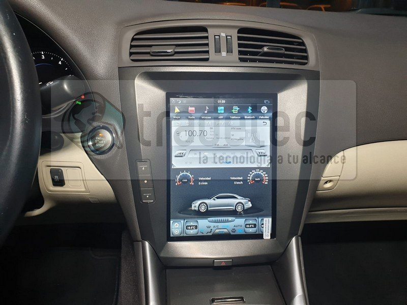 Lexus IS tesla gps android
