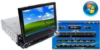 RADIO DVD car pc