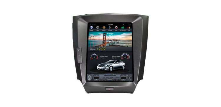 GPS head unit Tesla Style for Lexus IS TR2550