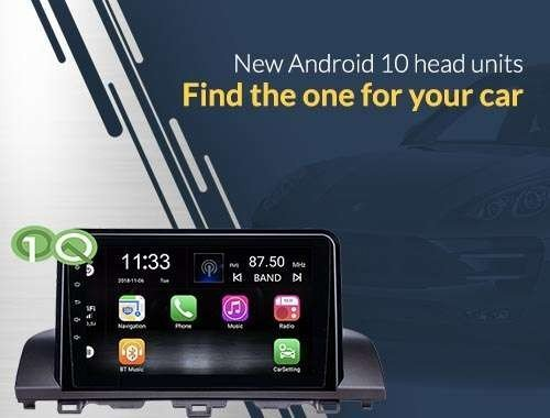 Car GPS head unit Android 10