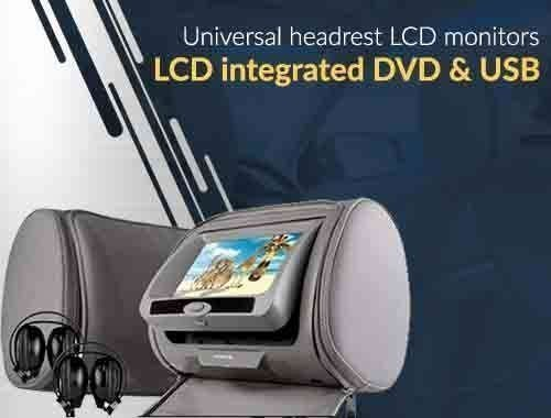 LCD Headrest monitors